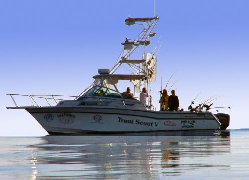 Alpena fishing charter boat sport charter fish alpena for Michigan city fishing charters